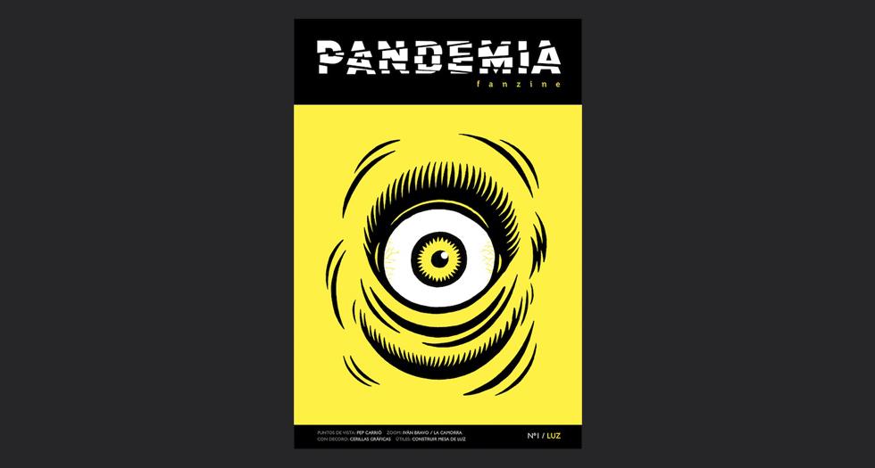 PANDEMIA FANZINE LUZ 1